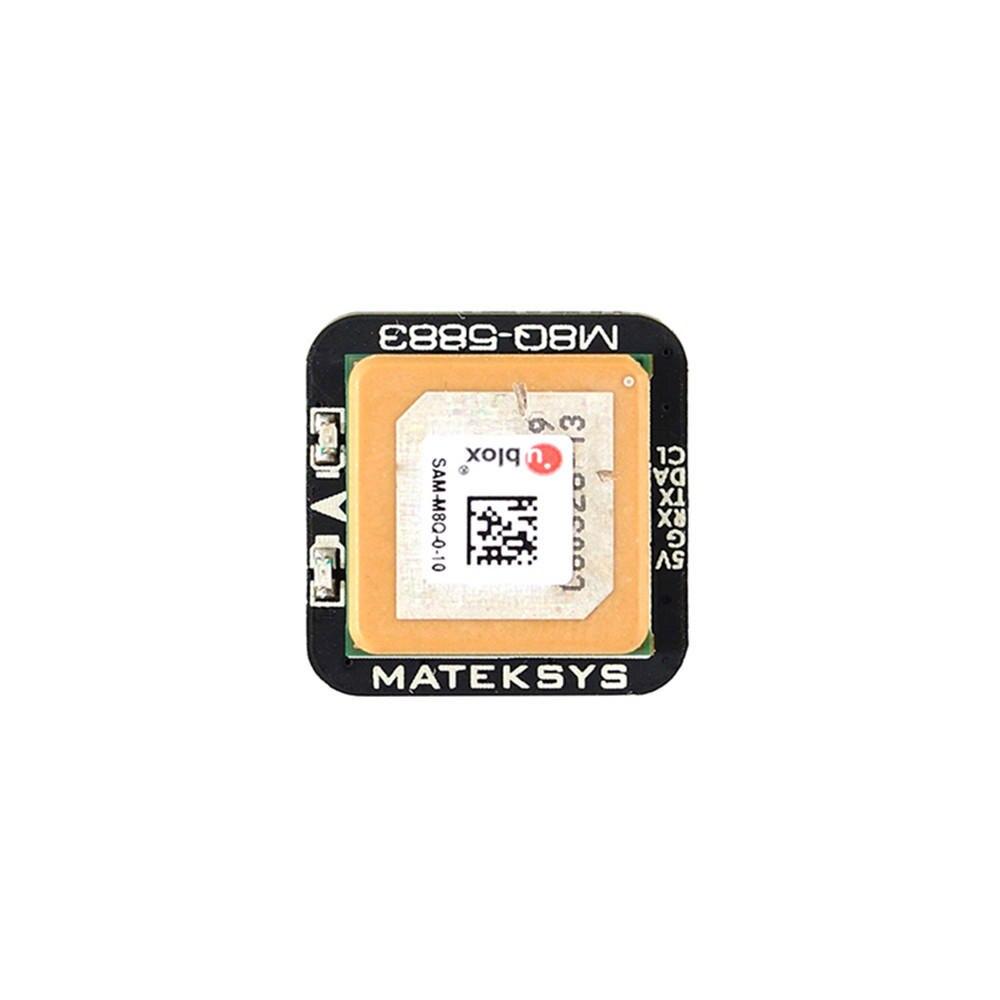 Systèmes Matek M8Q-5883 Ublox SAM-M8Q GPS & QMC5883L Module boussole pour Drone RC FPV Racing