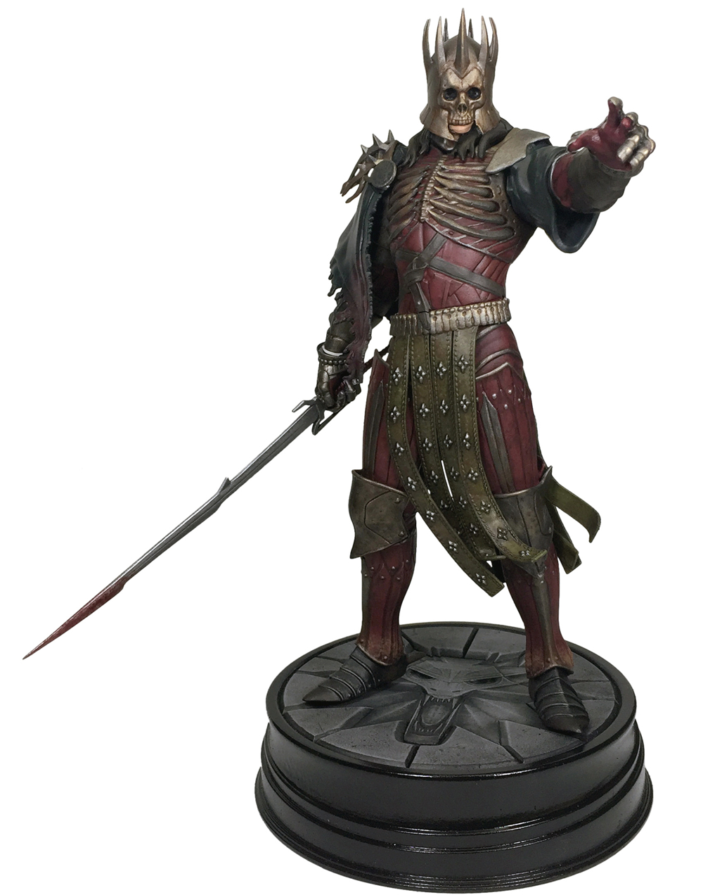 The Witcher 3 - Wild Hunt: King Eredin Figure Dark Horse The Witcher PVC Game Figure Collection Model Toy электронная версия для xbox microsoft the witcher 3 wild hunt game of the year edition