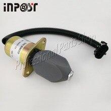 Fuel Shut Down Off Solenoid 3919422, SA-4754-12, SA-3665-12, 12v