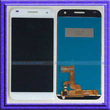 Blanco lcd pantalla + touch asamblea de cristal digitalizador para huawei ascend g7 g7-l01 g7-l03