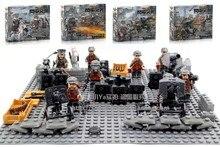 Купить с кэшбэком 2017 Doll Blitzkrieg Empire Marine Defense Forces Military Army Weapons Toys For Children Building Blocks Legousi Solider Bricks