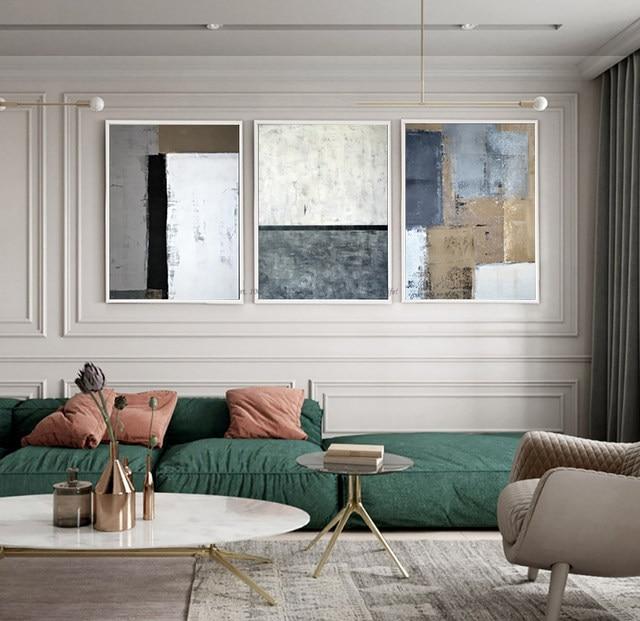 Cuadros decoracion abstracta quadros de parede par quarto tableau ...