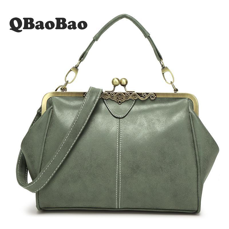 gloednieuwe retro vrouwen messenger bags kleine schoudertas hoge kwaliteit PU lederen draagtas kleine clutch handtassen