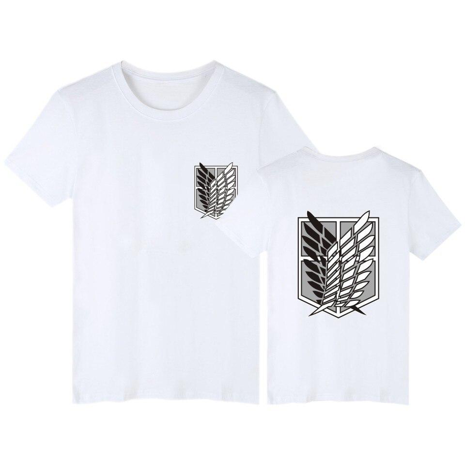 bc9666f5 2017 harajuku attack on titan fitness T Shirt 4xl T-shirt Men women funny t  Shirts Japanese Plus Size Brand Clothing