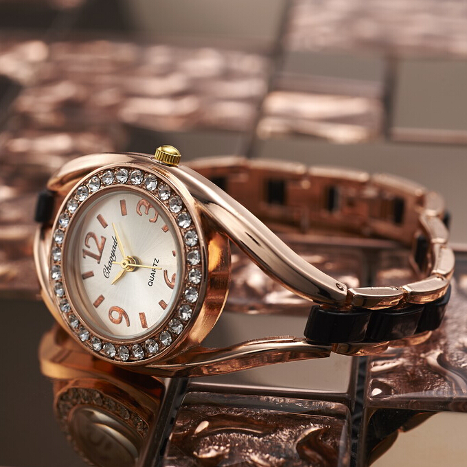Rose Gold Bracelet Watch Women Watches Luxury Rhinestone Women's Watches Ladies Watch Clock saat relogio feminino reloj mujer sinobi ceramic watch women watches luxury women s watches week date ladies watch clock montre femme relogio feminino reloj mujer