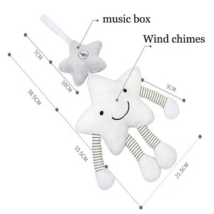 Image 3 - New Baby Toys For Stroller Music Star Crib Hanging Newborn Mobile Rattles On The Bed Babies Educational Plush Toys