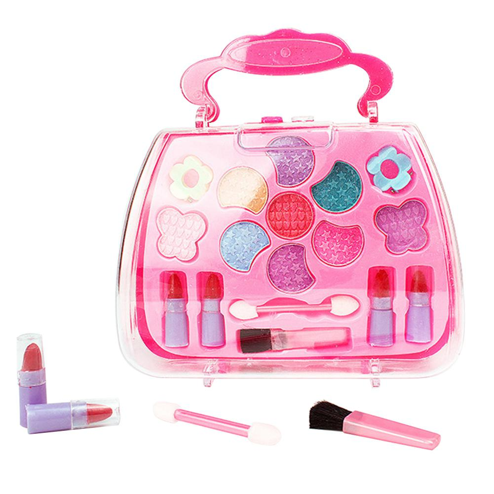 None Children Girls Simulation Dressing Table Makeup Toy Cosmetics Party Performances Dressing Box Set
