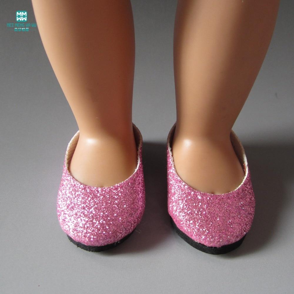 18.55 sm-lik Qız Doll Aksesuarları üçün 7.5 sm MIMI kukla ayaqqabısı