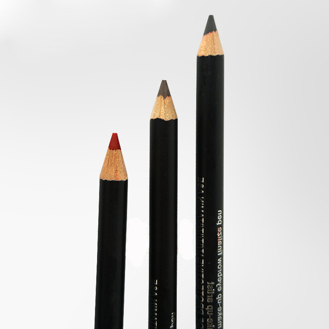 Waterproof eyebrow pencil permanent make up eyeliner/lip pencil Goochie 3 colors option