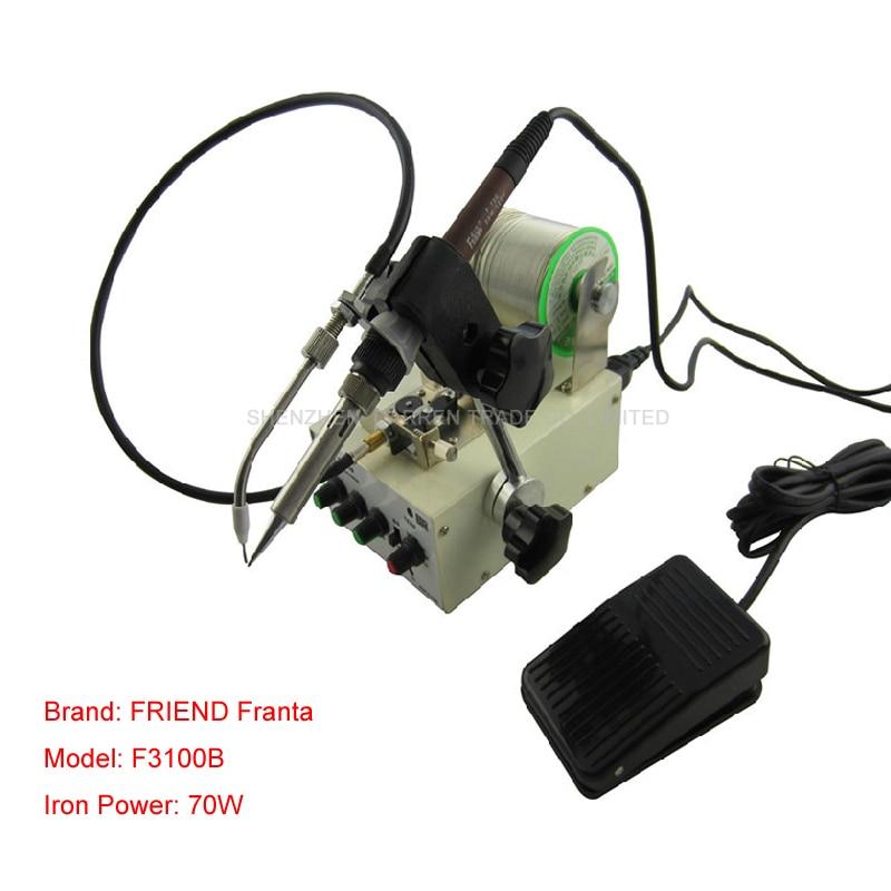 1PC 220V Foot switch send tin soldering machine soldering,Automatic tin feeding machine constant temperature soldering iron цены