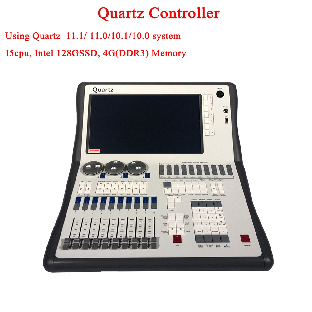 11.1/10.1System Quartz Controller Stage Lighting DJ equipment DMX Controller For LED Par Moving Head Spotlights Disco Controller11.1/10.1System Quartz Controller Stage Lighting DJ equipment DMX Controller For LED Par Moving Head Spotlights Disco Controller