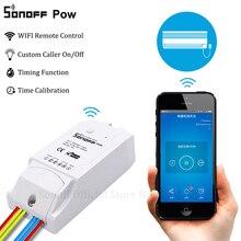 Sonoff Pow חכם Wifi מתג בקר עם זמן אמת צריכת חשמל מדידה 15A/3500w חכם בית מכשיר באמצעות אנדרואיד IOS