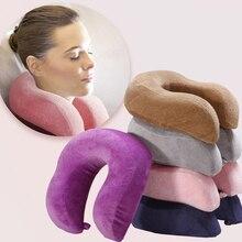 SleepWish u-образная подушка, подушка для путешествий с самолетом, удобная подушка с эффектом памяти, подушка для шеи, автомобильные постельные принадлежности