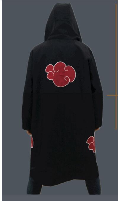 font b Naruto b font font b cosplay b font Costume Akatsuki Cloak font b