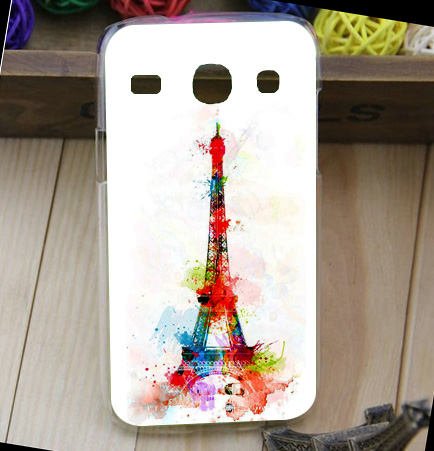 For Samsung Galaxy Core i8260 i8262 GT-i8260 Eiffel Tower Beauty Flower Cute Animal Design cover case For Samsung 8260 Top case