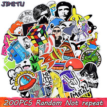 200pcs Random PVC Stickers Cool Punk Anime Stickers Gift for Children Sticker on DIY Laptops Suitcase