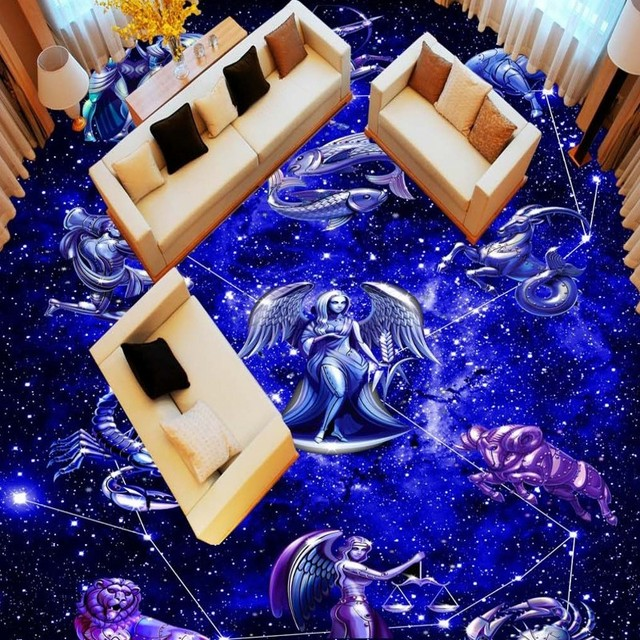 floor constellation adhesive universe fantasy bathroom self wear shipping kitchen star mural mouse zoom