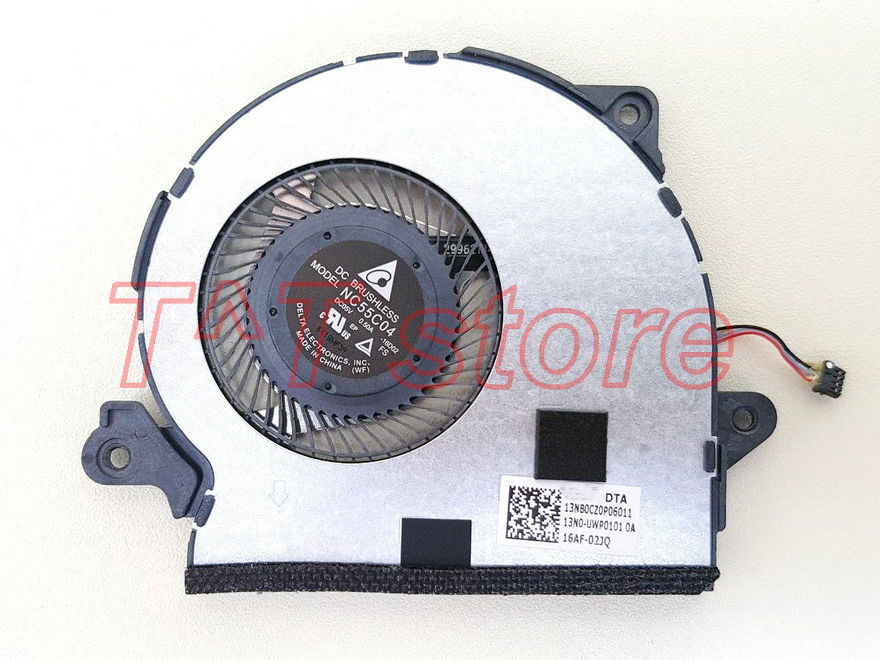 original for ASUS ZenBook 3 UX390UA CPU Cooling Fan 13N0 UWP0101 13NB0CZ0P06011 test good free shipping