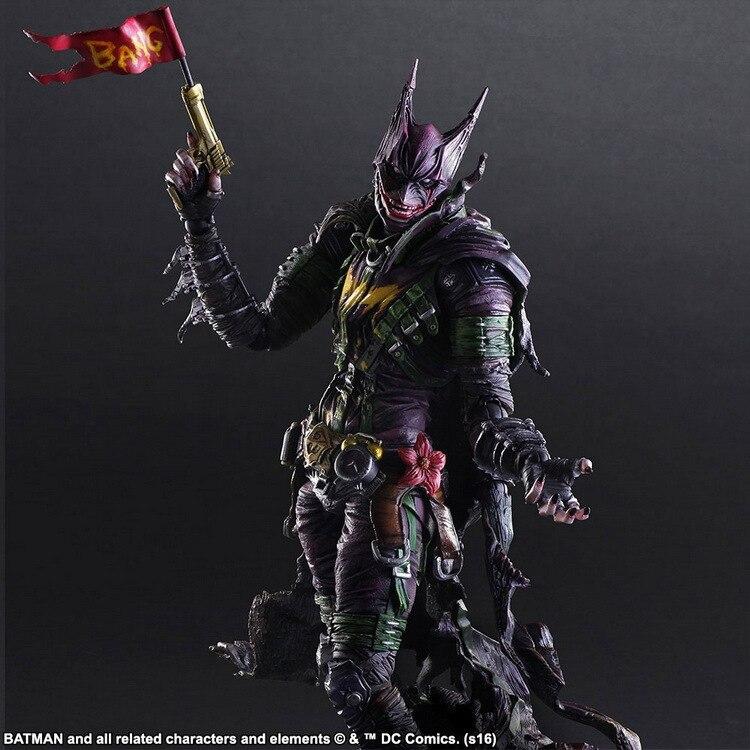 DC Super Hero Batman The Joker Action Figures PA Doll 25cm