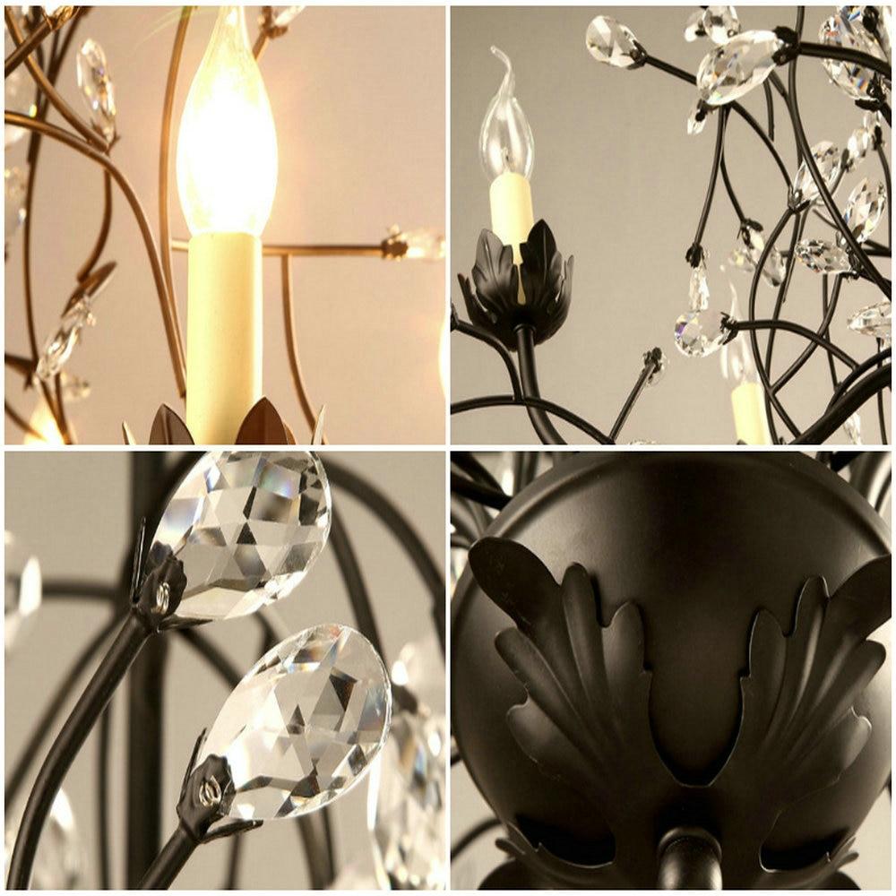 Moderne Nordique Lustre En Cristal Lampe En Cristal Luminaire