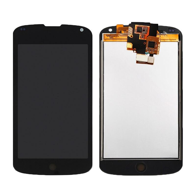 imágenes para Para LG E960 Google Nexus 4 E960 LCD Pantalla Táctil con Digitalizador Asamblea Reemplazo Envío gratis!!!