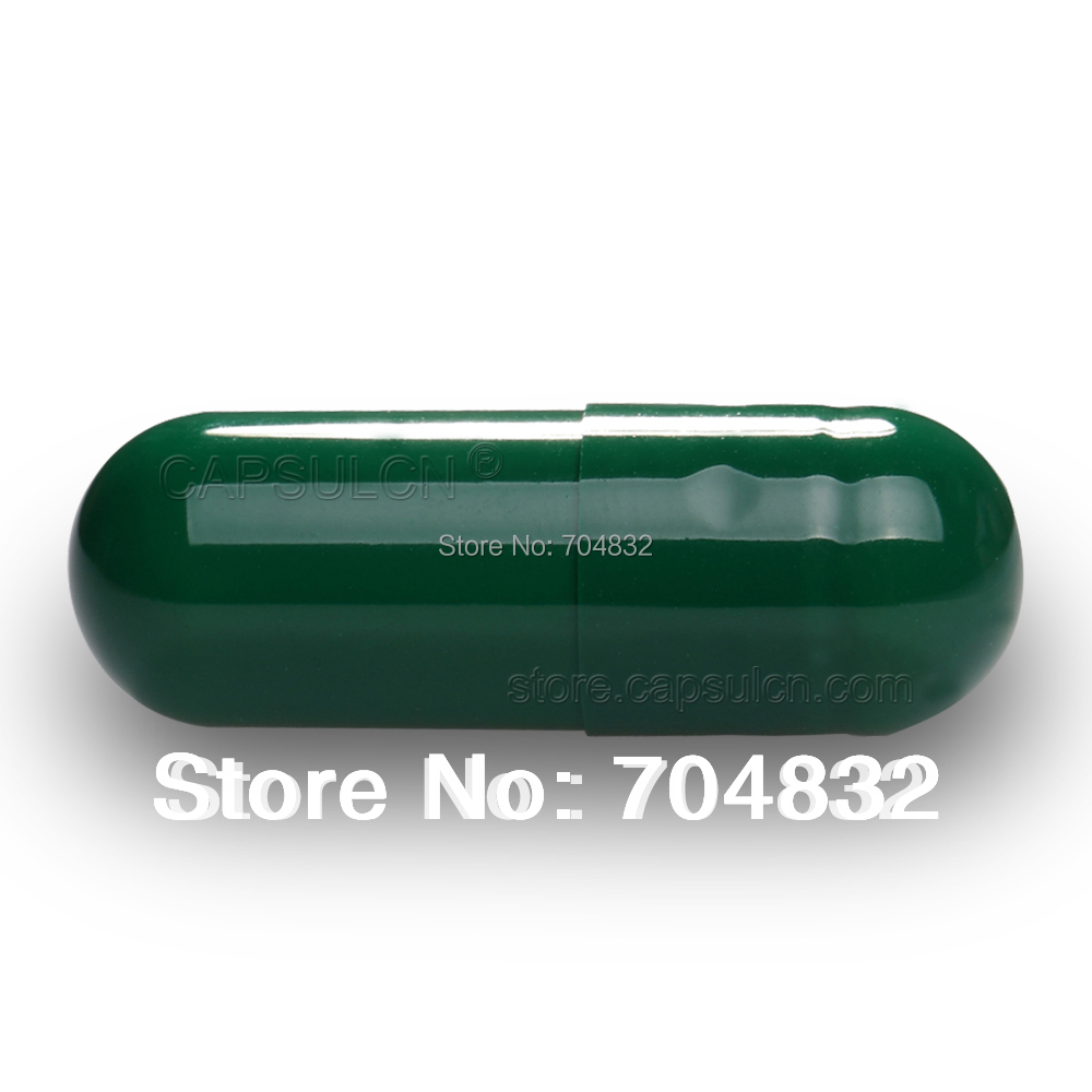 5000 pcs/Carton Joined Empty Gelatin Capsules 0# Dark Green For Capsule Filler Machines all size 000 00 0 1 2 3 4 5 capsulcn 120s semi automatic capsule filler capsule capper capsule filling machine 0