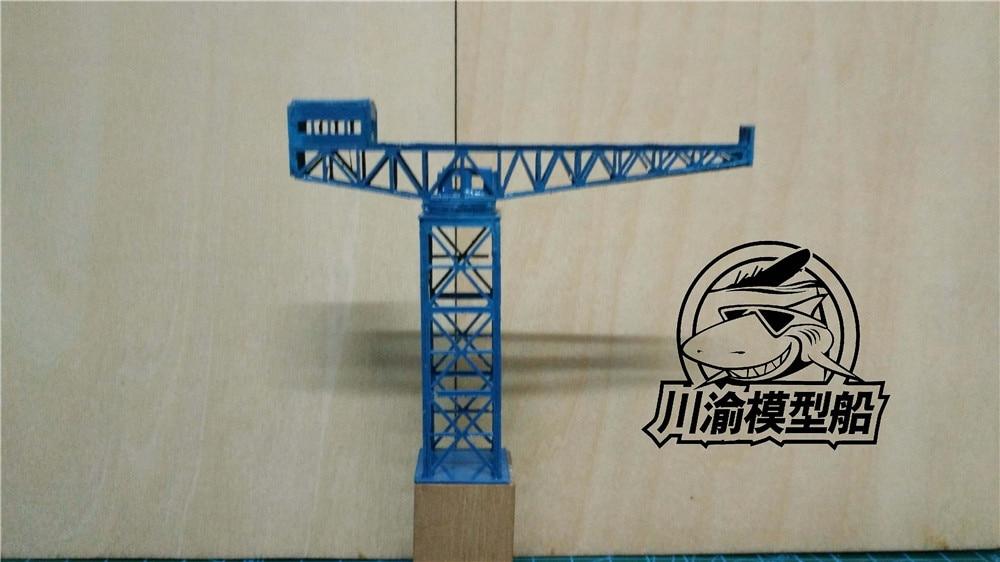 1//700 150t Tower Crane ABS, length: 8.8cm, base width: 1.8cm, height: 7.2cm