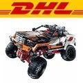 2016 Nueva LEPIN 20014 1386 Unids Technic Serie 4X4 Vehículos de Orugas Modelo Kit de Construcción de juguete Bloques de Ladrillos Compatibles juguete 9398