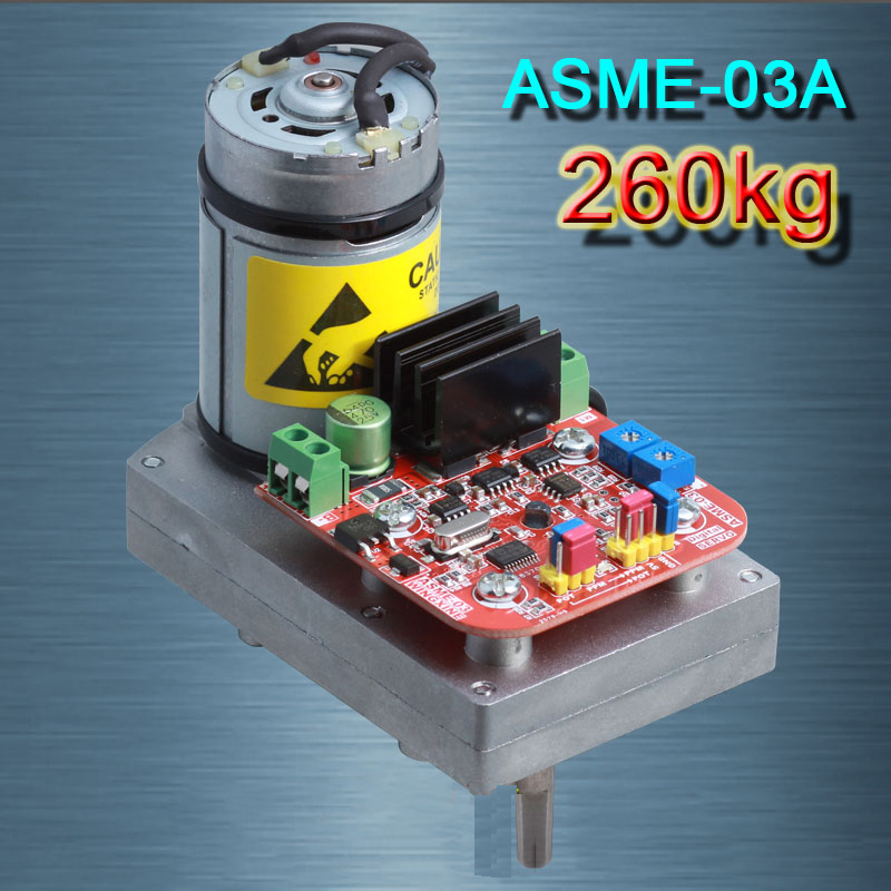MAX 260Kg.cm ,0.12s-0.24s/60 Degree DC 12-24V High-power high-torque Servo Steering Gear ASME-03A, for Robot Mechanical Arm 2pcs lot 180 degree 15kg 17kg biaxial digital servo ldx 218 high torque metal gear for android manipulator mechanical arm robot