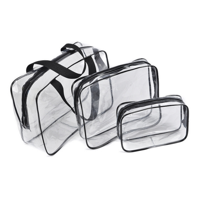 1pcs Waterproof Swimming Bags Transparent Bag Sports Travel Storage Bag Phone Pocket Shoes Bag