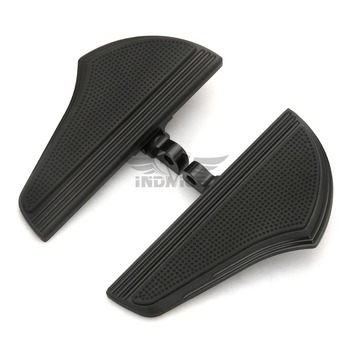 Motorcycle passenger Defiance floorboards Black CNC Male Mount Foot Pegs for Harley Touring FLHX PEG Dyna Sportster XL