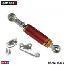 Алюминиевый регулируемый крутящий момент двигателя демпфер Ударный комплект 96-00 для Honda Civic EK9 EK3 EJ синий/красный TK-CA0177-EK3