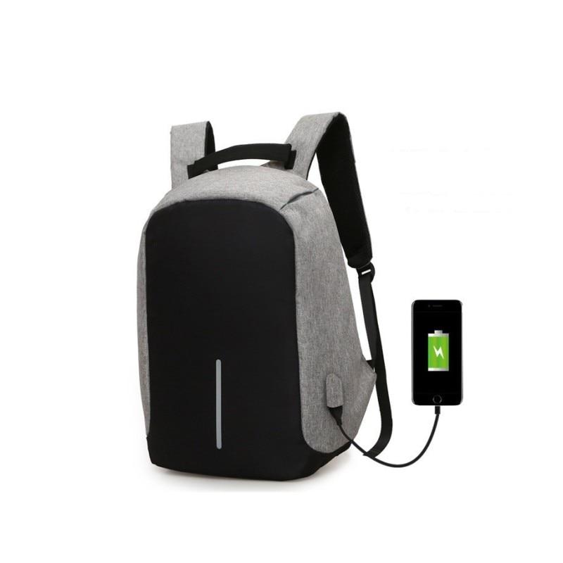 Brand Cool Urban Backpack Unisex Light Slim Minimalist Fashion Backpack  Women USB External Charge Laptop Backpack 2eccbdc0b66b5
