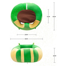 Baby Sofa Support Seat Baby Plush Support Chair Learning To Sit Baby Soft Seat Sofa Plush Toys Travel Car Seat Pillow