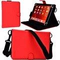 Для Рамос I10/I10 Pro/I8/I9 дюймовый Универсальный Tablet Case Высокое Качество Складной Фолио Стенд Чехол Сплошной Цвет для 10.1