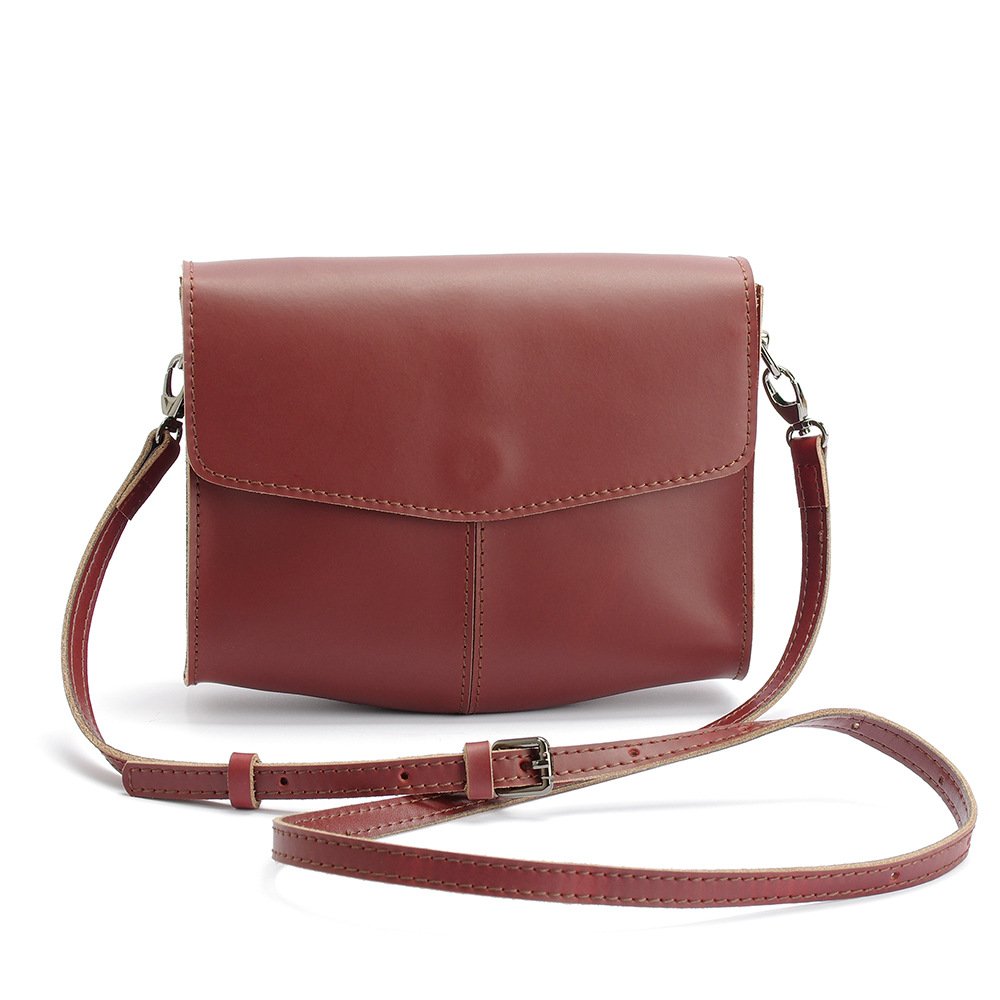 Vintage Style Luxury Brand Designer Women Crossbody Bag Split Leather Shoulder bag Lady Small Flap Bag new arrival women luxury brand small flap bag designer split leather women messenger bag lady chain crossbody bag bolsa sac