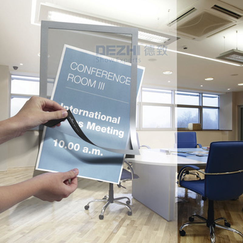 210x297mm PVC Magnetic Office Badge Indoor Wall Mount Sign Holder Display INFO Poster Door Sign stroysnab info