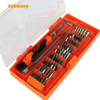 Free Shipping Jakemy JM 8125 Electric Toolbox Screwdriver Multitool Kit For Iphone Macbook Air Mackbook Pro