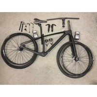 THRUST Carbon Bike 29er Mountain Bike Double Disc Brake 29 27.5er Wheel Bicycle Frameset 15 17 19inch