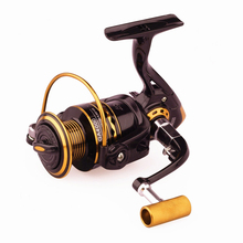 купить Ultra-light 14 Bearing Balls Spinning Reel Fishing 1000-6000 Metal Left/Right Handle Fishing Reel 5.2:1 Seawater freshwater дешево