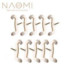 NAOMI 10 шт. скрипки Виола плечевые ножки/вилка для FOM KUN и деревянные подставки плечевые ножки Сменные ножки