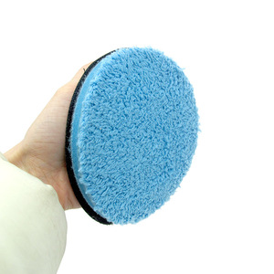 Image 3 - Car Care 4 5 6 7.5inch Microfiber For Wax Coating Polishing Cleaning Sponge Washing Tool Car Sponge Auto Detailing