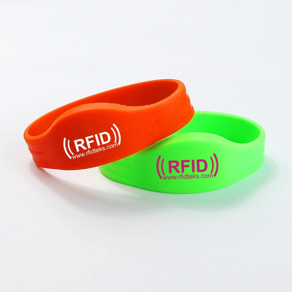 Custom Waterproof Silicone Smart Wristband rfid wristbandfor events rfid bracelet 13.56MHZ with ULTRALIGHT Chip