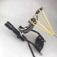 Hunting Fishing Slingshot Shooting Catapult Bow Arrow Rest Bow Sling Shot Catapult Crossbow Bolt Shooting Fish 2019 new