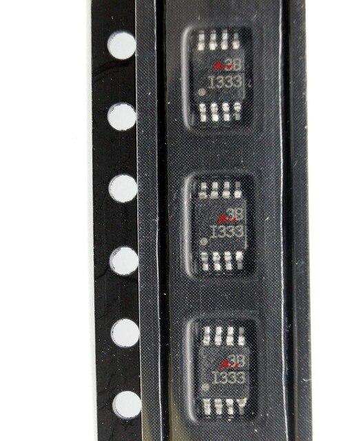 送料無料、バッファアンプ50ピースINA333AIDGKR INA333 I333 msop8新しいとorigianl