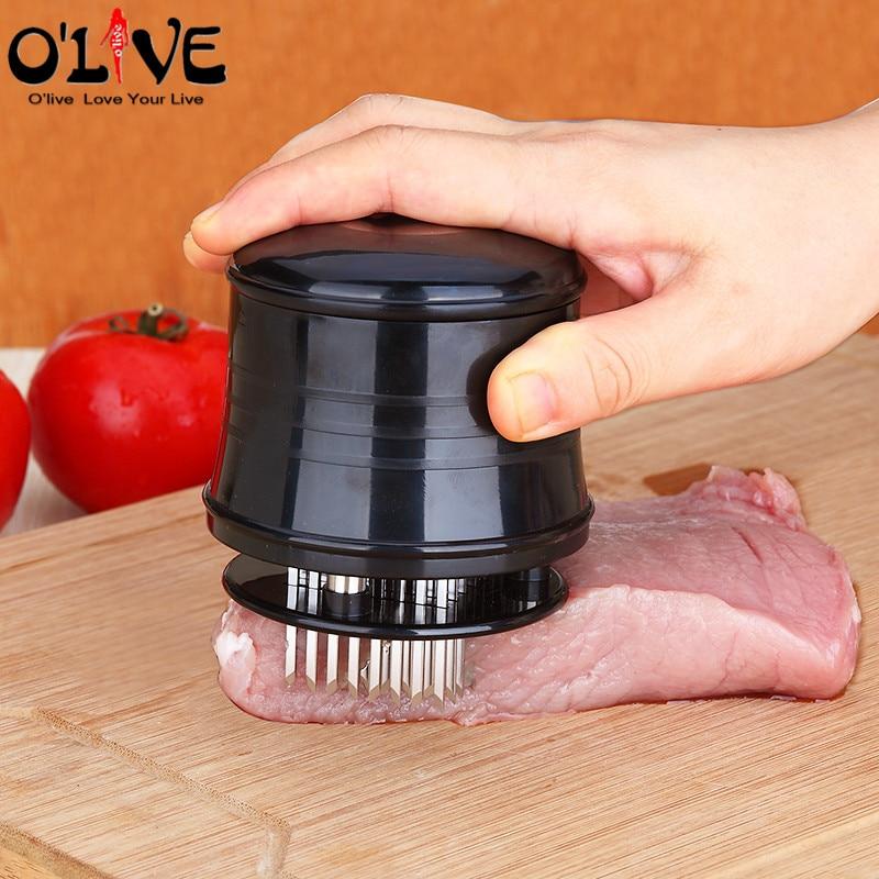 New Stainless Steel 56 Blade Meat Tenderizer Knives Kitchen Tool Steak Chicken