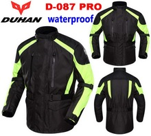 2016 New DUHAN D-087 PRO 100% waterproof motorcycle racing suits jersey clothing drop resistance motorbike jacket Rally Jackets