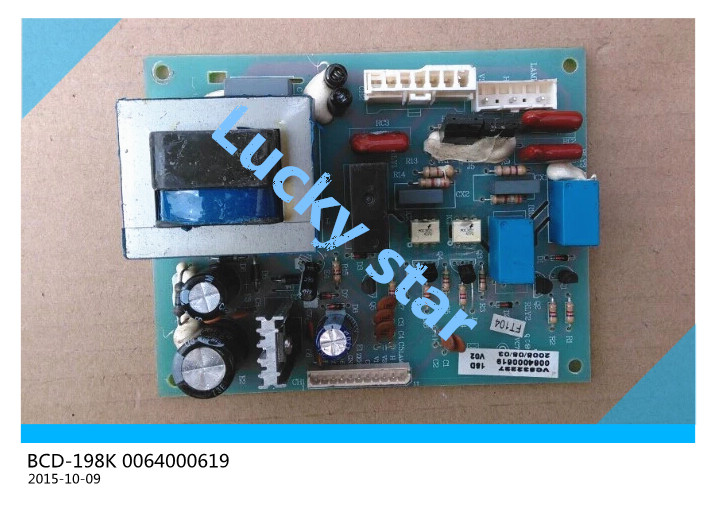 95% new for Haier refrigerator computer board circuit board BCD-198K 0064000619 driver board good working