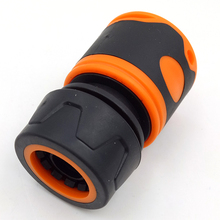 Durable Water Sprinkle 12 Inch Hose Connector Pipe Adaptor Tap Fitting Quick Rubber Material