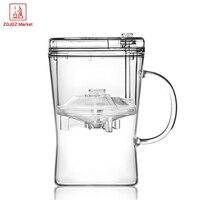 High Borosilicate Glass Tea Infuser Mugs High Quality Coffee Tea Cup Home Office Drinkware Unique Gift